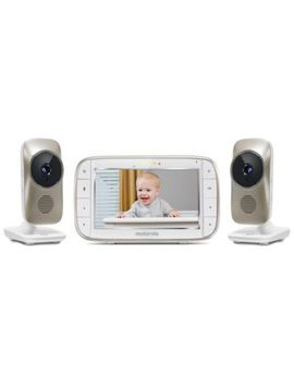 "Motorola® Mbp845 Connect 2 5"" Portable Wi Fi Video Monitor With 2 Cameras In White by Bed Bath & Beyond"