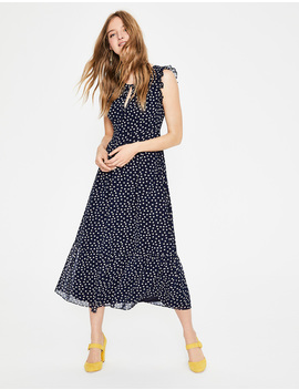 Laura Ruffle Dress by Boden