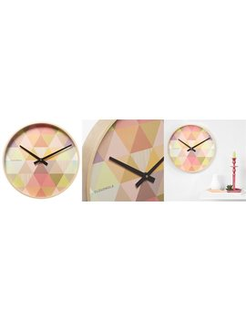 Cloudnola® Gin Clock   Red by Cloudnola