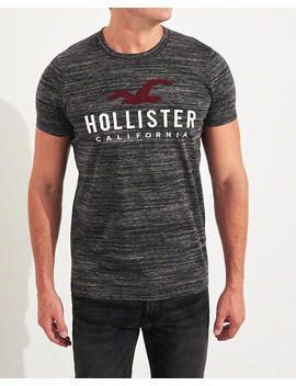 Muscle Fit Graphic Tee by Hollister