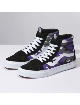 Pop Camo Sk8 Hi Reissue by Vans