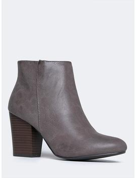 High Heel Ankle Bootie by Zooshoo