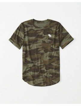 Camo Icon Tee by Abercrombie & Fitch