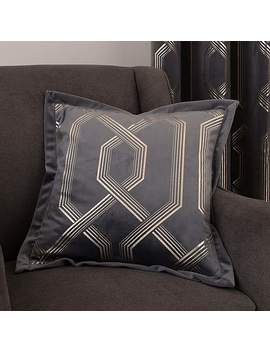 5 A Fifth Avenue Bergen Charcoal Cushion by Dunelm