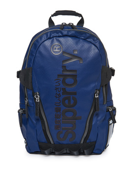 Silver Tarp Backpack by Superdry