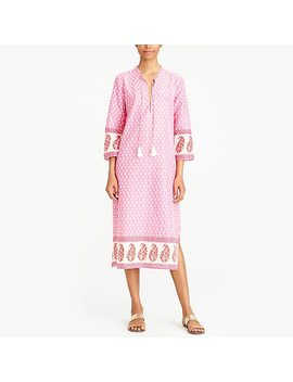 Printed Caftan Cover Up by J.Crew