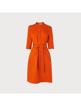 Launa Orange Dress by L.K.Bennett