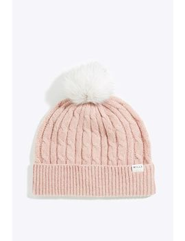 Marynton Cable Hat by Jack Wills