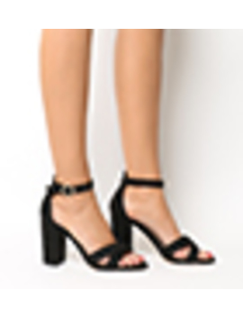 Holborn Cross Vamp Block Heels by Office