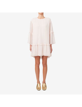 Dobby Flare Sleeve Dress by Seed Heritage