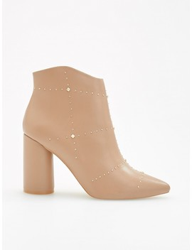 Ankle Boots With Studs And Rivets by Reserved