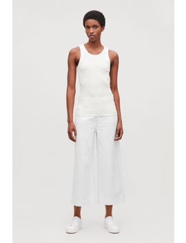 Ribbed Jersey Vest Top by Cos