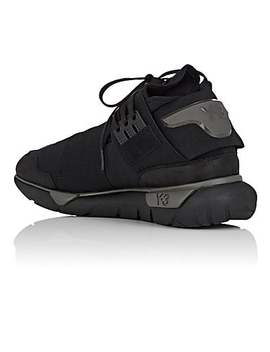 Qasa High Neoprene &Amp; Leather Sneakers by Y 3