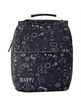 Top Handle Lunch Bag – Back To School Doodle by Indigo