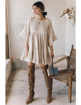 Paloma Mini Dress Paloma Mini Dress Zephyr Patchwork Over The Knee Boots by Spell & The Gypsy