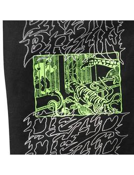 Brain Dead Bib Overall Black by Carhartt Wip