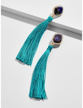 Syrene Resin Tassel Earrings by Baublebar