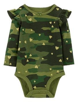 Camo Collectible Bodysuit by Carter's