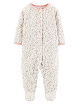Leopard Snap Up Fleece Sleep & Play by Carter's