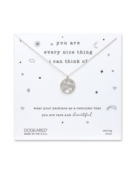 You Are Everything Nice Magical Icons Necklace, Sterling Silver by Dogeared