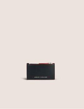Top Zip Bicolor Cardcase by Armani Exchange