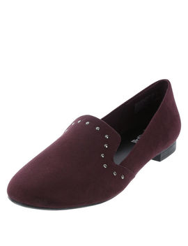 Women's Dilly Stud Smoking Loafer by Learn About The Brand Brash