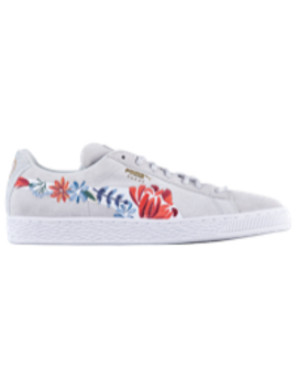 Puma Suede Velvet Hyper Emb by Lady Foot Locker