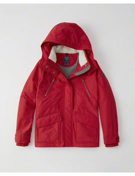 Nylon Hardshell Jacket by Abercrombie & Fitch
