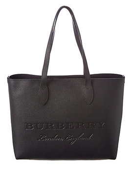 Burberry Remington Large Embossed Leather Tote by Burberry