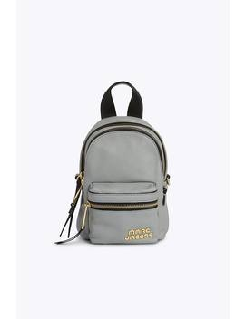 Trek Pack Leather Mini Backpack by Marc Jacobs