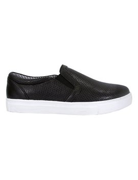 Black Slip On Sneaker   Women by Fuzzy Footwear