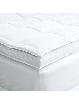 European Down Topped Featherbed by Restoration Hardware