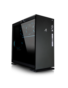 Clx Gaming Pc Intel I7 8700 K 3.7 G Hz (6 Cores) 16 Gb Ddr4 2 Tb Hdd & 240 Ssd Nvidia Ge Force Gtx 1080 Ti 11 Gb Gddr5 Win 10 64 Bit by Cybertronpc