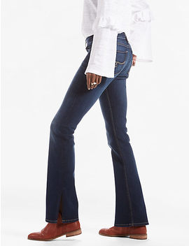 Lolita Bootcut Jean With Side Slit by Lucky Brand