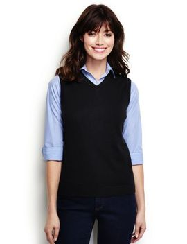 Women's Regular Performance Sweater Vest by Lands' End
