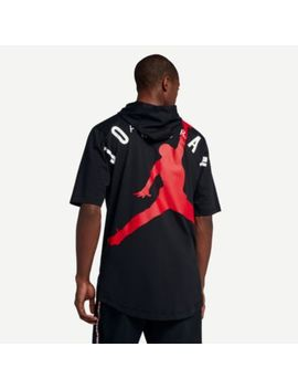 Jordan Jumpman Air Hbr Short Sleeve Hoodie   Men's by Jordan