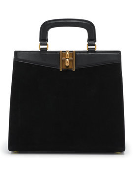 Plaza Suede Satchel by Henri Bendel