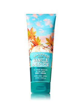 Whipped Vanilla & Spice   Ultra Shea Body Cream    by Bath & Body Works