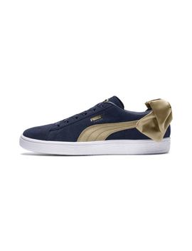 Suede Bow Varsity Women's Sneakers by Puma