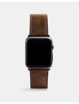 Apple Watch® Strap With Camo Print by Coach
