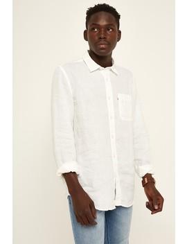 The Academy Brand Hampton Ls Shirt White by Universal Store