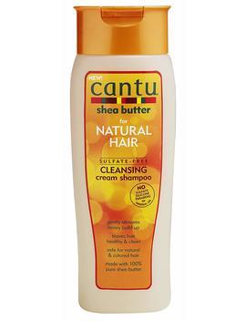 Cantu, Shea Butter Per Natural Hair, Shampoo Crema Purificante Senza Solfati, 400Ml (Etichetta In Lingua Italiana Non Garantita) by Cantu
