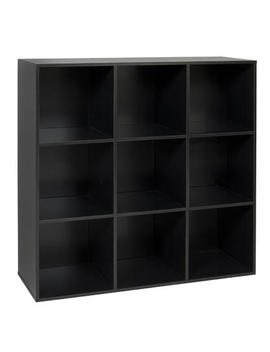 Best Choice Products 9 Cube Bookshelf Display Storage Organizer W/ Removable Back Panels (Black)Best Choice Products 9 Cube Bookshelf Display Storage Organizer W/ Removable Back Panels (Black) by Sears