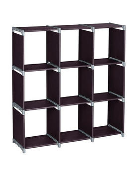 Winado 9 Grids Storage Organizer Bookcase Closet Stacker Clothes Stand Modular Cubes Winado 9 Grids Storage Organizer Bookcase Closet Stacker Clothes Stand Modular Cubes by Sears