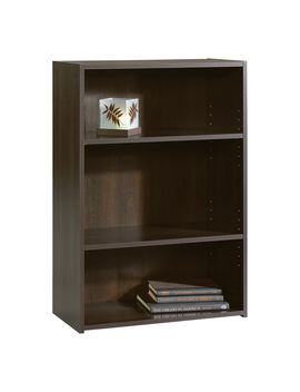 Sauder Beginnings 3 Shelf Wood Bookcase, Cinnamon Cherry Finish Sauder Beginnings 3 Shelf Wood Bookcase, Cinnamon Cherry Finish by Sears