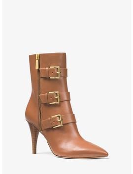 Lori Leather Mid Calf Boot by Michael Michael Kors