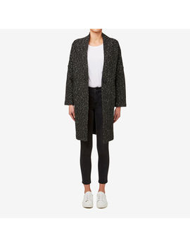 Oversized Boucle Coat by Seed Heritage