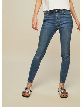 Lizzie High Waist Skinny Mid Wash Jeans by Miss Selfridge