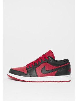 Air Jordan 1 Low Gym Red/Black/White by Jordan