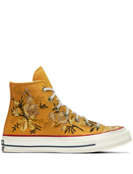 Chuck 70 Floral Leather High Top by Converse